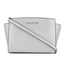 MICHAEL MICHAEL KORS Selma medium messenger bag ($345) ❤ liked on Polyvore