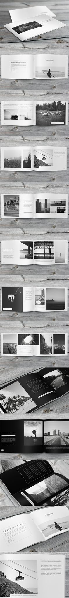 Minimalfolio Photography Portfolio A4 Brochure #4 on Behance
