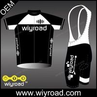 Low MOQ OEM custom cycling jersey sets for team wear,sports bike wear cycling jersey short,kit cycling wear sets with good price