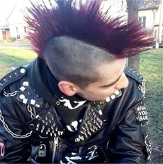 """punkerskinhead: """"adorable punks in leather….so hot…so horny """""""