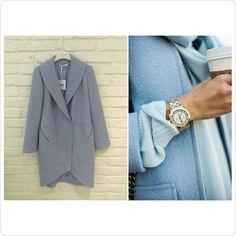 błękitny płaszcz