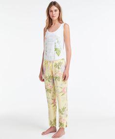 Pantalón largo jardín