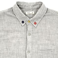 Folk Three Button Shirt
