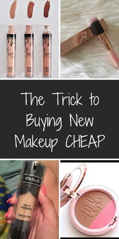 Shop brand new make up from top brands like MAC Cosmetics, Kat Von D Beauty, Kylie Cosmetics, and hundreds more at up to 70% off retail! Click or tap the image to download the FREE app now.