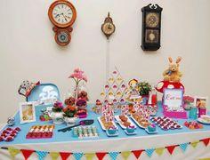 Ideia para festas infantis - serviço de Buffet em casa