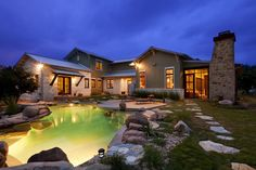 house; country with glass