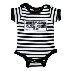 Johnny Cash Folsom Prison Onsie