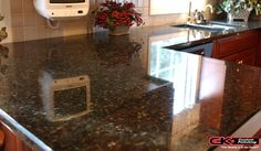 Properly cleaning and sealing your #marble and #granite counter tops can help to greatly prolong their lifespan.
