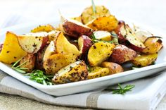 Roasted Potato Wedges - Pritikin