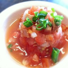 Lomi lomi salmon at Ono Hawaiian Foods  726 Kapahulu Ave Honolulu, HI 96816, US