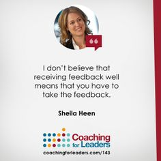 You may have received training on giving feedback, but do you maximize how you receive it? On this show, discover how to give thanks for the feedback.
