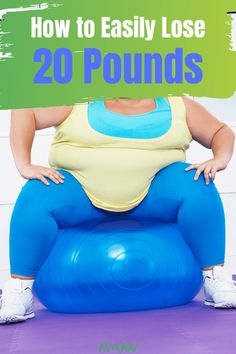 How to Lose 20 Pounds Easily Weight Loss For Women, Weight Loss Goals, Fast Weight Loss, Weight Loss Motivation, Healthy Weight Loss, Fat Fast, Losing 10 Pounds, Burn Calories, How To Lose Weight Fast