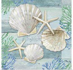 Framed Prints, Canvas Prints, Art Prints, Big Canvas, Sea Turtle Pictures, Seashell Painting, Jar Art, Decoupage Vintage, Wall Art For Sale