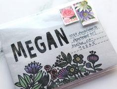 3 Ways to Add Glitter Paste to Envelopes – kwernerdesign blog