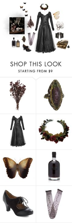 """""""we're waiting by the willow"""" by lilafairy ❤ liked on Polyvore featuring Sevan Biçakçi and Trasparenze"""