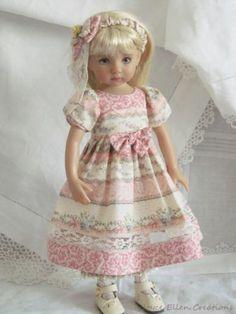 13-Effner-Little-Darling-BJD-fashion-pink-Sunday-Best-set-OOAK-handmade-by-JEC