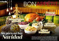 No te pierdas la mejor receta de Pavo para Navidad en #BonAppétit Relleno, Menu, Basket, Table Decorations, Turkey Recipes, Christmas Recipes, Noche Buena, Best Recipes, Menu Board Design