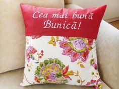 Cadouri elegante pt femei, cadouri bunici, cadouri pt familie, perne decorative, perne elegante