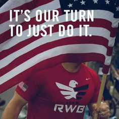 My newest running team! I've decided to support Team RWB at the Mike to Mike Half Marathon at Fort Bragg! So excited to run for this organization!!!