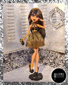 Monster Doll Golden Scarab high fashion by HauntCoutureAtelier