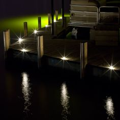 Dek Dots are designed to be walked on, and create the perfect pathway lighting.