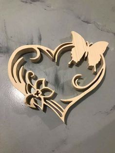 Wood Craft Patterns, Wood Burning Patterns, Woodworking Patterns, Woodworking Projects, Wooden Crafts, Diy And Crafts, Laser Cutter Ideas, Scroll Saw Patterns Free, Wooden Crosses