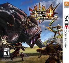 Monster Hunter 4 Ultimate - Nintendo 3DS, Multi