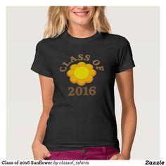 Class of 2016 Sunflower Tee Shirt