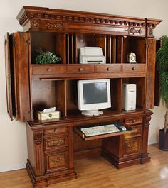 Exceptionnel Computer Armoire, Computer Desks, Armoires, Computers, House Plans,  Service, Pc, Hands, Chair