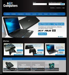 Bat Computer - Sitio Web Dinámico