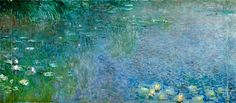 "I recently went to see Monet's Waterlilies at the Orangerie in Paris, and this one, ""Morning"" was my favourite - so tranquil and beautiful - I could have sat and looked at it all day."