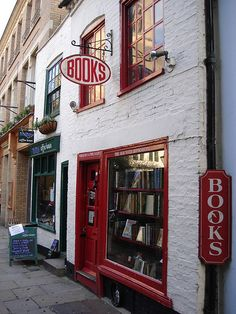 The Haunted book shop- i'd sell my soul to work at the haunted book shop!!!