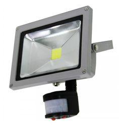 20W COB LED Flood Light With Sensor