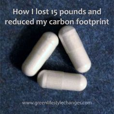 Eating less not just reduces your waist line, but also cuts your carbon footprint.  Here's how I've lost over 15 lbs in 4 months without significant change to my diet or exercise levels.