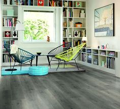 Pergo Living Expression Mountain Grey Oak Laminate Flooring