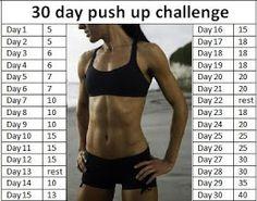 just JENNIFER: 30 Day Push Up Challenge