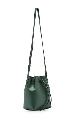Mansur Gavriel - Moss Calf Leather Mini Bucket Bag