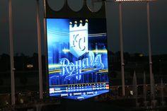 Royals baseball at Kaufman Stadium