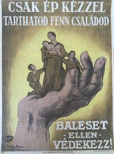 V. Pataky Ferenc  – Görömbey Imre - Baleset ellen védekezz! – 6.sz. | Plakát galéria