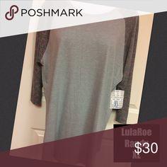 Xl Lularoe Randy Shirt NWT Fits size 18-20 XL Lularoe Randy Shirt NWT Very cozy! Great fit! This unisex knit shirt resembles a baseball T with its raglan, mid-length sleeves in a contrasting, fabric. XL fits women size 18-20 LuLaRoe Tops Tees - Long Sleeve