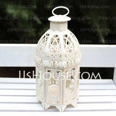 Decoraciones de boda - $18.89 - Vendimia Hierro Globo y Farol (131037850) http://jjshouse.com/es/Vendimia-Hierro-Globo-Y-Farol-131037850-g37850