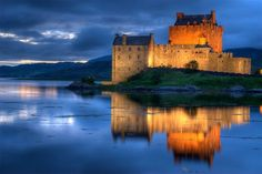 Eilean Castle - Scotland (7 Most Beautiful Castles in the World | YeahMag)