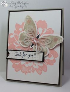 Stampin' Up! Watercolor Wings Just For You
