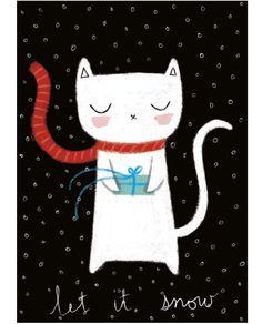Une illustration de chaton fera fondre le coeur de n'importe quelle fillette dans votre entourage.
