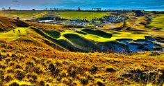 #9 at Chambers Bay Golf Course - Location of the 2015 U.S. Open Tournament