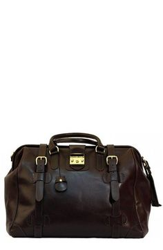 Mulholland 'Safari' Leather Bag