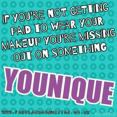 Want to get paid for wearing makeup?! Message me today!! www.FabuLASHCosmetics.co.uk