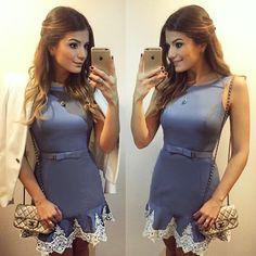 {Jeans} De @cloudejeans | #lookdanoite #lookofthenight #ootn #selfie #blogtrendalert