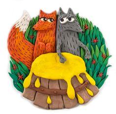 The illustrations for a lovely fairy tale are finished! Part 1 http://www.stihi.ru/2016/05/03/1135  #taninplastilin #plasticine #plastilina #пластилин #clayart #clay #танинпластилин #fairytale #сказки