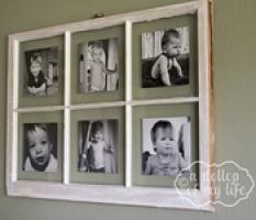 Diy Antique Window Picture Frame